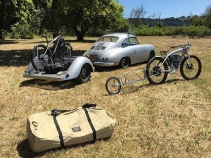 Check Out This Custom Bike Trailer Rod Emory Built for his 356
