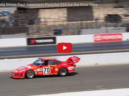 Remember Paul Newman's Porsche 935 That Adam Carolla Bought? Watch Him Drive it for the FIrst Time!