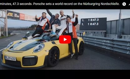 Watch the new Porsche GT2 RS Lap the Nurburgring Faster Than Any Production Car Before It.