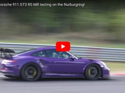 Onboard Manthey's 991 GT3 RS Snagging a 7:09.5 at the Nurburgring