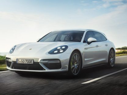Porsche Introduces Hybrid Version of the Panamera Sport Turismo Wagon