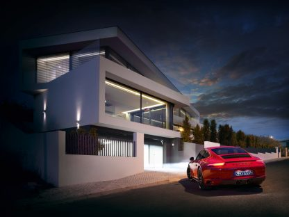 Sooner vs. Later You'll be Able to Control Your Smart Home with Your Porsche