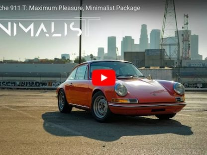 Why Early Porsches Provide Maximum Pleasure From a Minimalist Package