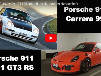 Tuned 993 Pushes a 991 GT3 RS Around the 'Ring