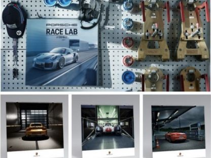 Introducing the Official 2018 Porsche Calendar – Race Lab