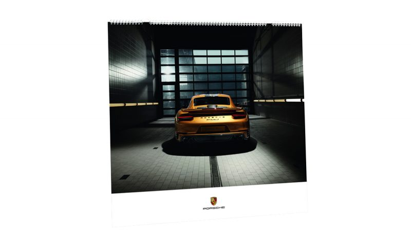 Cover of the 2018 Porsche Calendar