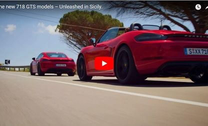 Wind In Your Hair: Driving the 718 Cayman and Boxster GTS with Dario Franchitti and CJ Wilson