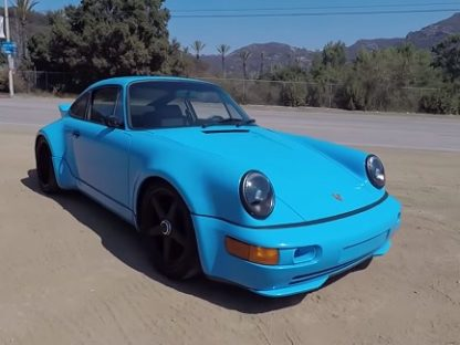One Take: 600 Horsepower Andial-Powered 964 Turbo