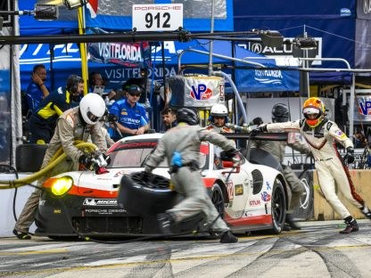 PORSCHE'S RESULTS AND PICTURES IN THE IMSA WEATHERTECH SPORTS CAR CHALLENGE AT Petit Le Mans