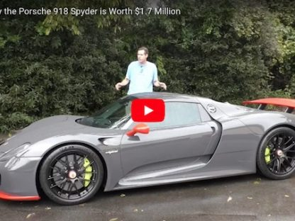 Here's Why the Porsche 918 is now Worth Nearly Twice its Original Price