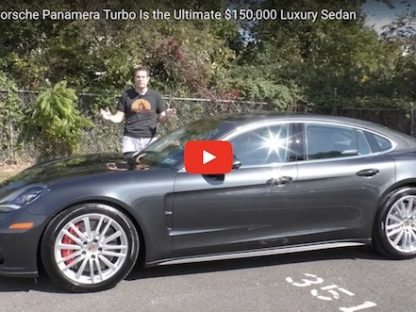 Video: Why the Porsche Panamera Turbo Is the Ultimate $150,000 Luxury Sedan