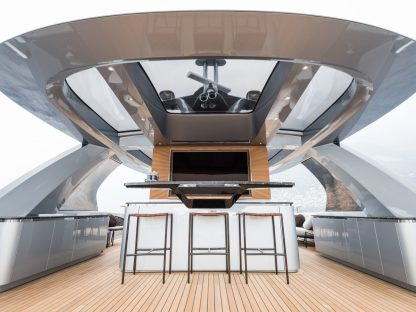 Inside the Dynamiq GTT 115 Hybrid: Studio F.A. Porsche's New Yacht.