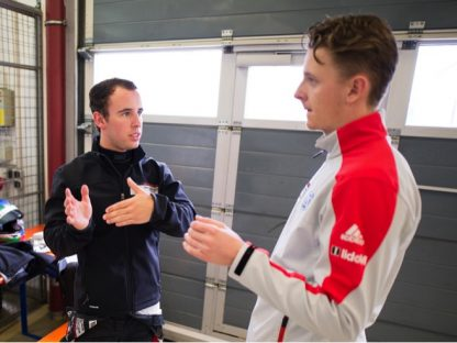 10 Questions with Jake Eidson: The Porsche Motorsport Junior Shootout at Lausitzring