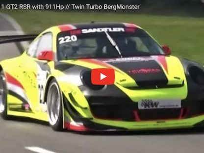 911 HP GT2 RSR Attacks the Hillclimb