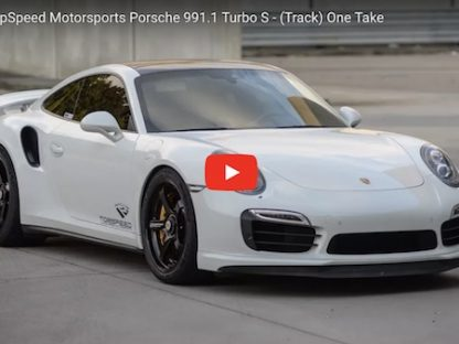 Matt Farah Flogs a 700 HP Tuned Turbo S at Road Atlanta