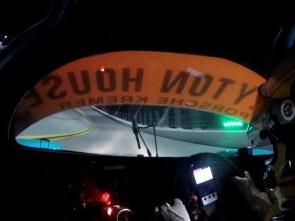 "Onboard Video: Under The Lights With Daytona Classic Winning Porsche 962C ""Leyton House"""