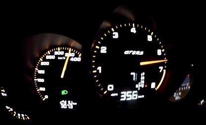 Watch this GT2 RS Hit 212 MPH on the Autobahn