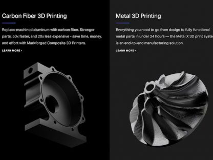 porsche invests in markforged 3d printing manufacturer