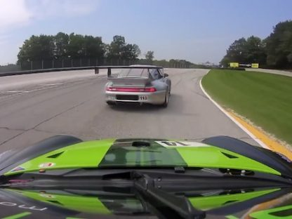 Turbocharged 993 Silhouette Monster Duels with Modern 997 RSR