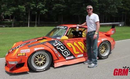 Wrestling a 660-HP 964 on Six-Year-Old Tires