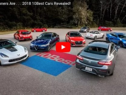 Car And Driver Names 718 Boxster/Cayman Among Their 10Best For 2018