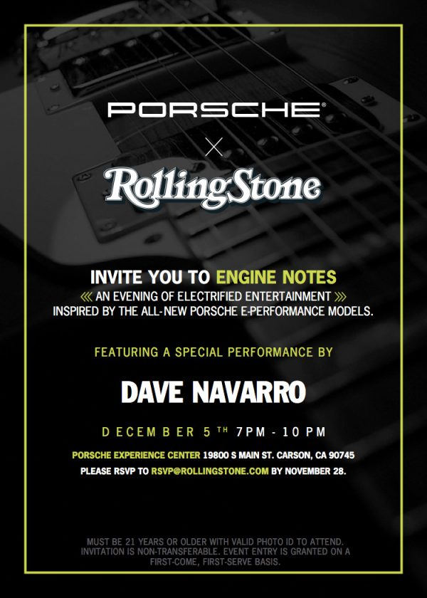 Porsche Engine Notes event