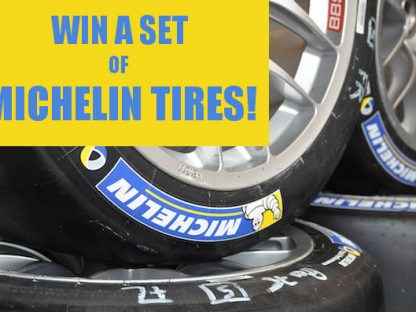 Win a set of Michelin tires from FLATSIXES.com