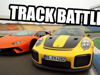 Video: GT2 RS Decimates the Huracán Performante on Track