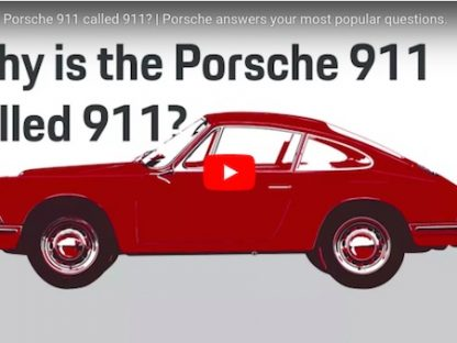 Do You Know Why Porsche's Iconic Sports Car Is Called '911'?