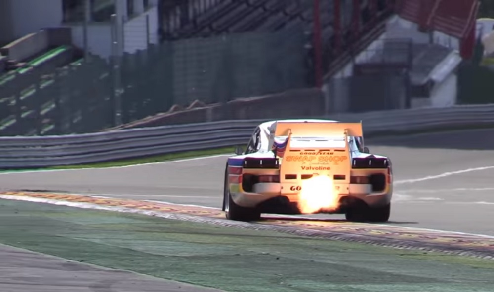 The Flame Spitting Sights And Sounds Of Porsche 935 Flatsixes