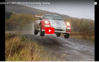 Watch This 911 GT3 Rally Car Fly Through the Woods