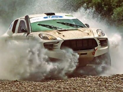 This Rally-Raid Macan Wins The Award For Best Use Of A Macan