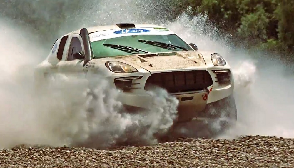 This Rally Raid Macan Wins The Award For Best Use Of A Macan Flatsixes
