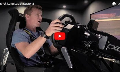 Drive Along in a Virtual Lap of Daytona with Patrick Long