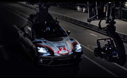 3D Mapping a 919 Hybrid on to a Panamera Turbo S E-Hybrid