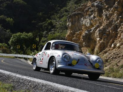 6 Races. 7 Continents. One Porsche 356. One Driver.