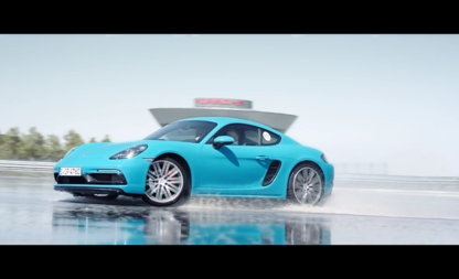 Thrashing the Cayman S With Porsche Driving Experience