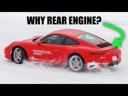 Why the Porsche 911 Remains Rear-Engined