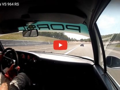 Nervous, Oversteering 993 Chases 964 RS at Dijon!