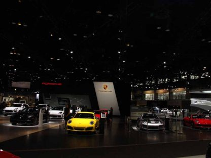 The Porsches Of The Chicago Auto Show