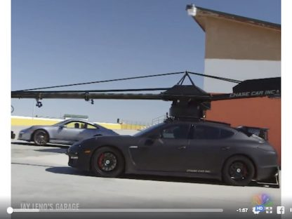 Set Your DVR: There's a Lot of Great Porsche Content on Jay Leno's Garage This Week