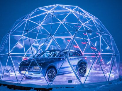 Porsche Puts Pop Up Shop Atop French Resort Mountain