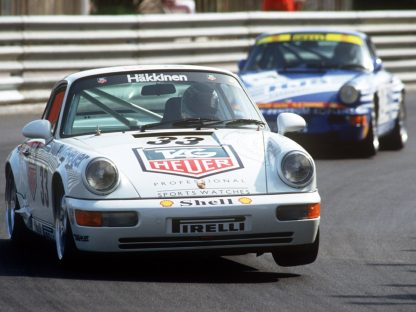 Dogfight Between 964 Cups Shows Splendor of Vintage Carrera Cup Races