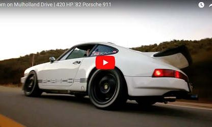 Feels Familiar: A Turbocharged 911SC Made for Mulholland