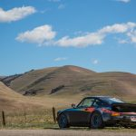 911 Turbo sitting among the rolling California hills