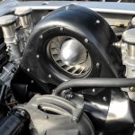 4 cam engine in Porsche 718 RSK on Amelia Island