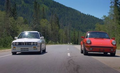 80's Icons Battle Head-To-Head: Porsche 911 Carrera 3.2 Vs. BMW E30 M3