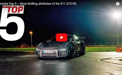 Top 5 Most Thrilling Attributes of the 991.2 GT2 RS