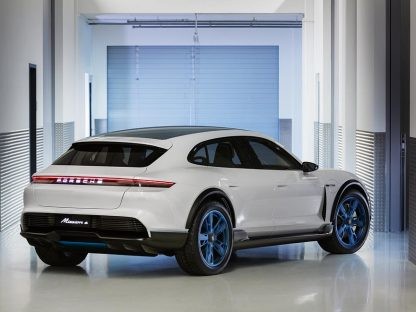 Porsche Mission E Cross Turismo Rear Quarter