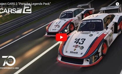 Nine New Porsche Models, Including two 917s, Join Project Cars 2